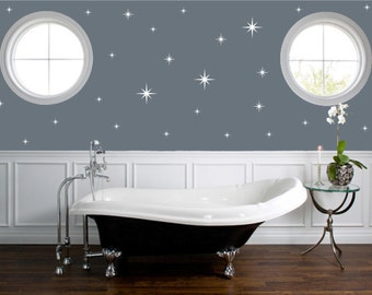 Gold wall decals   Etsy