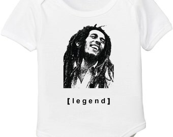 Bob Marley Baby Onesie or Toddler Tee