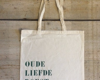 Cotton bags printed