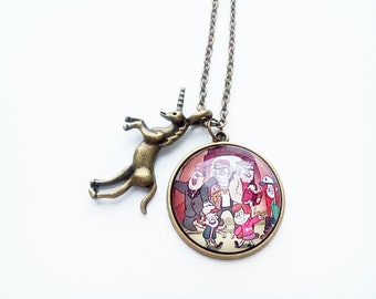 Gravity Falls necklace