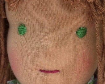Embroidery thread for Waldorf doll and rag dolls for mouth and eyes