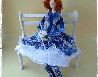 Interior textile Boho style doll