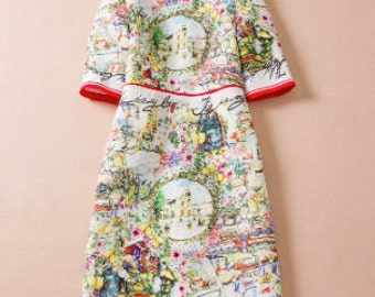 SALE Italian Day Dress (Mommy and Me)