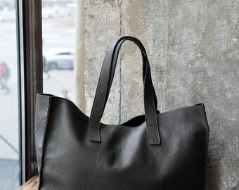 MIRA grey tote bag