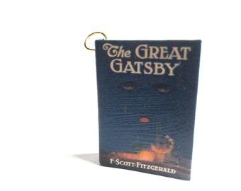 Miniature Great Gatsby Necklace/Keychain