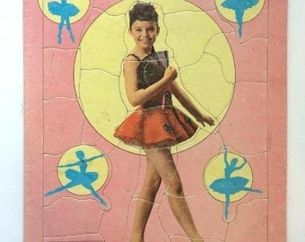 Angela Cartwright, America's Little Darling on...The Danny Thomas Show: 1962 Inlaid Picture Puzzle by Saalfield Artcraft (7030)