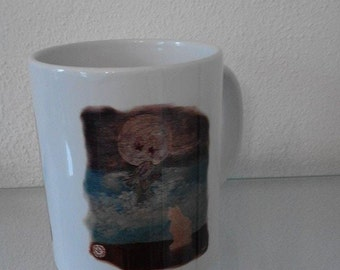 "Ceramic mug ""Moon"" single-sided printing"