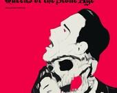 Queens of the Stone Age Poster - ...Like Clockwork v1 - Custom Band Posters - QOTSA - Josh Homme - American Rock - Rock Gift Alternative