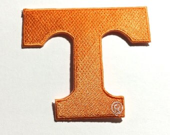 "Tennessee Volunteers Embroidered Iron on Vols Patcht  2 & 3/4"" L"