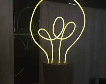 Neon Light Bulb