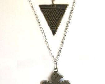 Boho Double Necklace