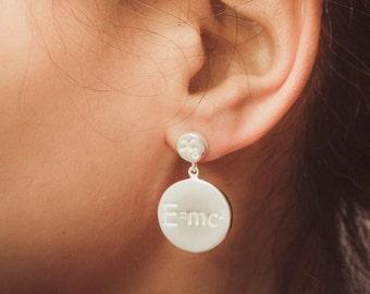 Einstein earrings