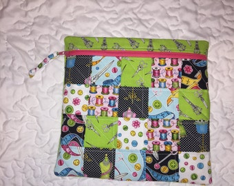Custom Made Zipper Pouches (large)