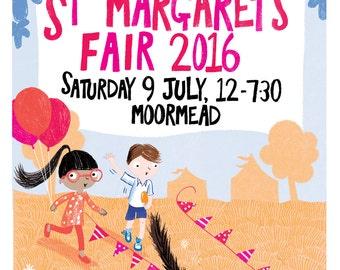 St Margarets Fair 2016 giclee print