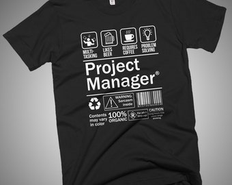 Project Manager Funny T-Shirt