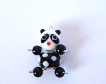 Beaded Panda Bear