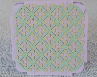 Weaved card