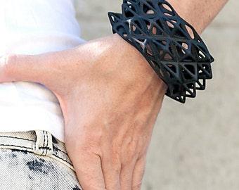 Bristle - 3d Printed Bracelet - Nylon