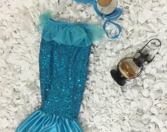 2PC Mermaid Tail Swimsuit