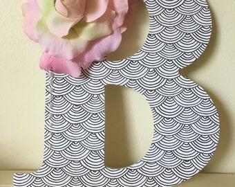Custom Designed Letter - B