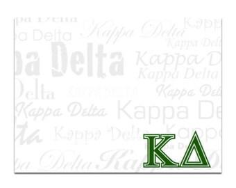 Kappa Delta Sticky Notes