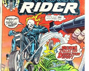 Ghost Rider #4 (1974) VF 8.0