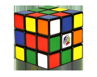 Original Retro 3x3 Rubik's cube