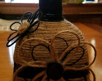 Up-cycled Patron Bottle
