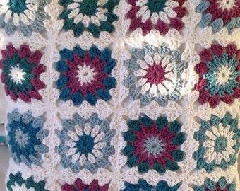 Crocheted Pillow Sham
