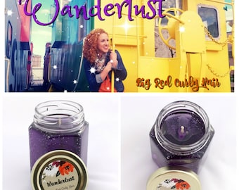 Wanderlust ~ Black Raspberry Vanilla Scented Gel Candle