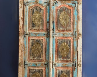 Rajasthan Carved Cabinet (Almirah)