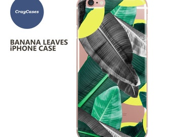 Banana Leaves iPhone Case for 6/s, iPhone 6/s Plus & iPhone 7 (Shipped From UK)