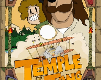 """Issue 2: """"The Temple of Tang"""""""