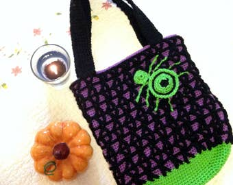 Spider Webby Trick-or-Treat Bag