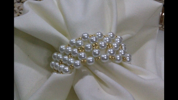 Napkin rings for daily use or any special occasions.
