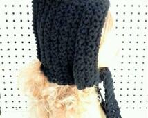 Crochet Pattern Hat, Womens Crochet Hat Pattern, Crochet Hood Pattern, Crochet Womens Hat, MAIDEN Crochet Pattern