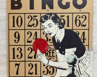 Mother May I? Bingo Card Collage