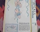 Vintage 1930s McCall 340 Kewpie Kaumagraph Transfer Pattern