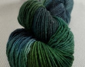 NEW Yarn Hollow Wise Goat Hand Hand Dyed Single Ply Wool/Mohair Racing To Night Multi Color