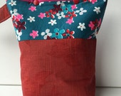 Knitting Project Bag Snap Closure Small