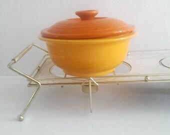 Mid-Century Modern Food Warming Tray