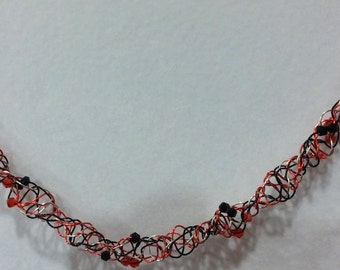 DNA Spiral Necklace in University Colors
