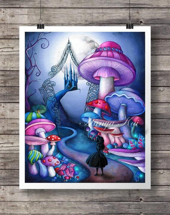 Details. Alice In Wonderland Fantasy Art Part 75