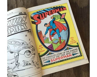 Superman Book - Superman From the Thirties to the Seventies