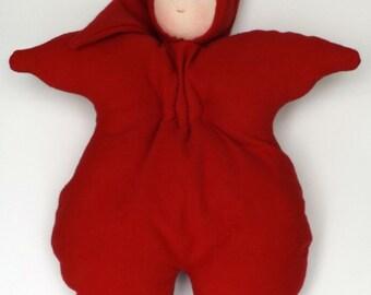 "Waldorf doll 16"" handmade toy toddler doll"