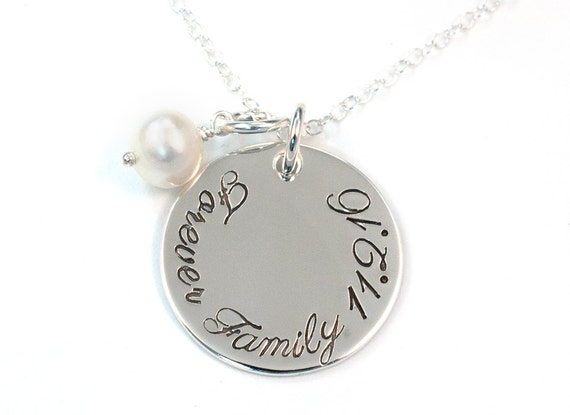 Forever Family Adoption Necklace Gotcha Day Necklace Hand