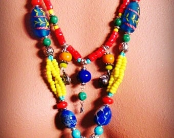 TANAGER statement necklace