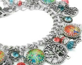 Celtic Tree of Life Bracelet, Tree of Life Jewelry, Spiritual Bracelet, Tree Bracelet, Silver Tree, Spiritual Jewelry, Scared Tree