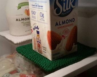 FREE US SHIPPING - Fridge Liner, Fridge Coaster, Fridge organizer, super absorbant milk Spill Fridge coaster, set of 3