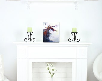 Bold Art Print, Black Wall Art, Red Fireplace Art, Man Cave Art, Wall Art for Office, Gift for Man, Masculine Artwork, Art for Male, Groom